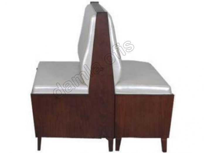 Ahşap ikili sedir, ahşap cafe sediri, ahşap loca sedirleri modelleri.
